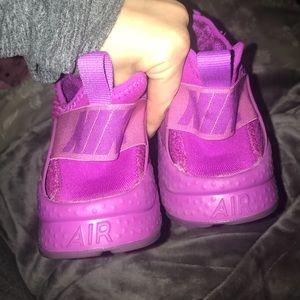 724e6d99fa5f Nike Shoes - Purple Nike Huaraches